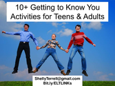 Community Building Activities | 10+ Getting to Know You Activities for Teens & Adults