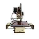 "Best 3d Printers Under 1000 $ | Printrbot Assembled jr (v2) 3D Printer, ABS/PLA Filament, 1.75mm Ubis Hot End, 6"" x 6"" x6"" Build Volume"