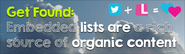 Get Found - Embedded lists are a rich source of organic content