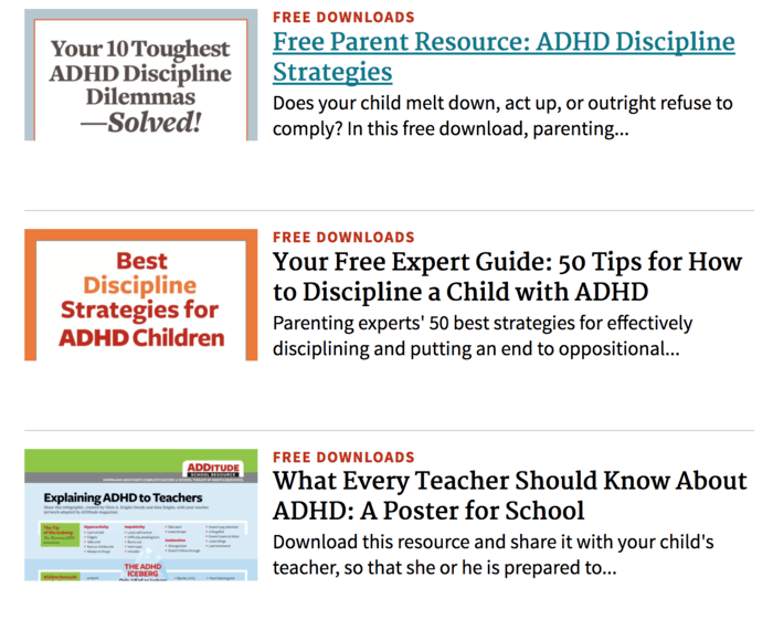 ADHD Resources for Early Childhood Educators | A Listly List