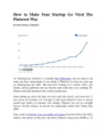 Slides Sampler | Scribd - How to Make Your Startup Go Viral The Pinterest Way