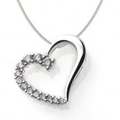 Headline for Heart Shaped Diamond Necklaces for Women