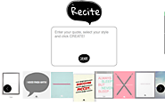 Interactive Tools & Sites that JIVE with the iPad | QUOTABLE IMAGES (Recitethis)