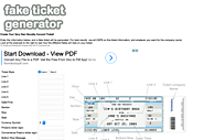 Interactive Tools & Sites that JIVE with the iPad | FAKE CONCERT TICKET GENERATOR (fake ticket generator)