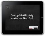 Interactive Tools & Sites that JIVE with the iPad | 37signals Chalk