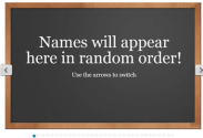 Interactive Tools & Sites that JIVE with the iPad | Random Name Generator