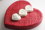 Plaster of Paris Scented Valentine Sachets