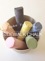 Crafts You Can Make With Plaster of Paris | Make Your Own Sidewalk Chalk!