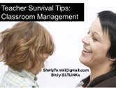 The Teacher's Survival Kit | Classroom Management