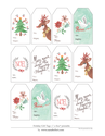 Free Christmas Tags | Tags by oana befort