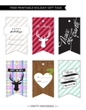 Free Christmas Tags | Tags by Pretty Providence