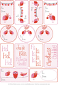 Free Christmas Tags | Pink Gift Tags by Wee Birdy