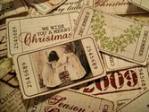 Free Christmas Tags | Vintage Ticket Style Christmas Gift Tags by ♥ Miss Cutiepie
