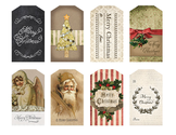 Free Christmas Tags | Vintage Christmas Tags by Eclectic Anthology