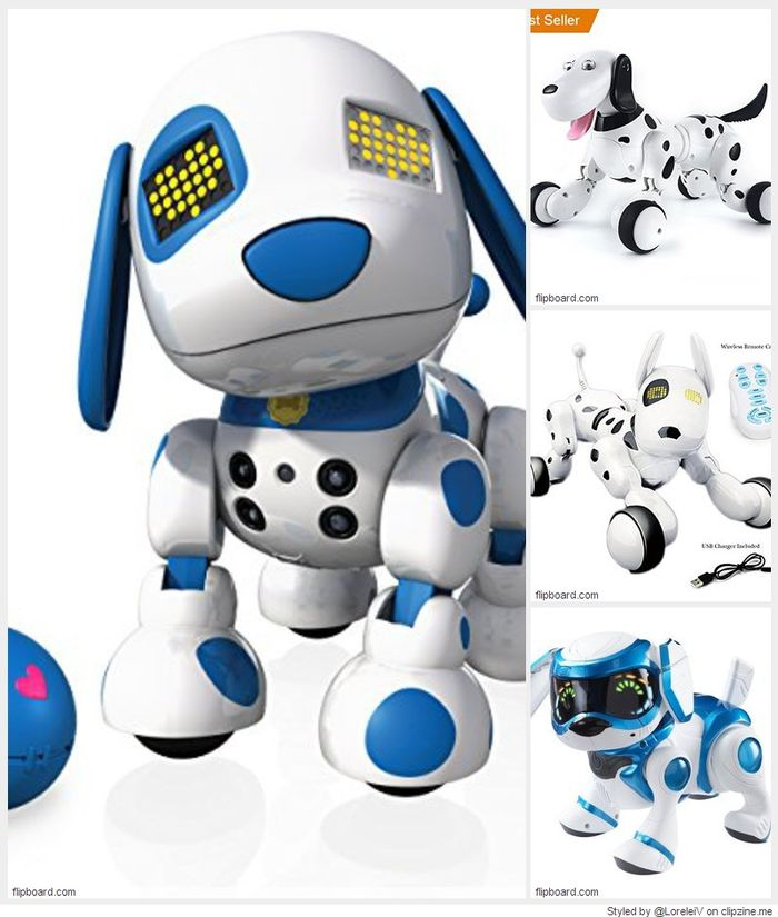 TOP 10 BEST ROBOT PUPPY DOG TOYS FOR CHILDREN REVIEWS 2018