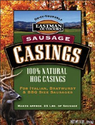 Sausage Stuffing Supplies | Eastman Outdoors 100% Natural Hog Casing for Italian, Bratwurst & BBQ Size Sausages (Makes Approximately 25 Pounds of...