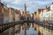 Tourist cities in Belgium | Bruges, emphatically touristic