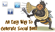 Share Content And Create Buzz - A Really Simple Way To Get More Re-Tweets, Likes and +1's