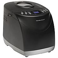 Top Rated Bread Machines 2014 | Hamilton Beach HomeBaker 29882 Breadmaker, Black