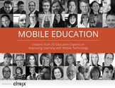 Publications by Shelly Sanchez Terrell | Mobile Education - Lessons from 35 Education Experts on Improving Learning with Mobile Technology