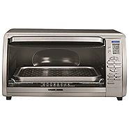 Best Rated Toaster Oven | Black & Decker CTO6335S Stainless Steel Countertop Convection Oven, Silver