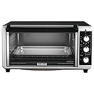 Best Rated Toaster Oven | Black & Decker TO3250XSB 8-Slice Extra Wide Toaster Oven, Black/Silver