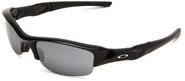 Best Sunglasses for a Big Nose | Oakley Men's Flak Jacket Iridium Sunglasses