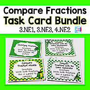 Compare Fractions Bundle by Mercedes Hutchens | Teachers Pay Teachers