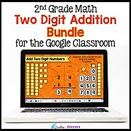 Two Digit Addition with Regrouping BUNDLE for the Google Classroom