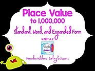 Place Value to a Million: Standard, Word, and Expanded Form PowerPoint