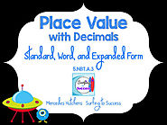 Decimal Place Value: Standard, Word, and Expanded Form PowerPoint