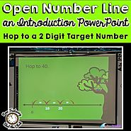 Introduction to Open Number Line: Hop to a Target Number by Mercedes Hutchens