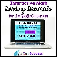 Dividing Decimals: Interactive Math for the Google Classroom | TpT