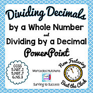 Dividing Decimals Powerpoint by Mercedes Hutchens | TpT