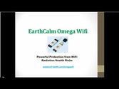 WiFi Radiation Protection | [Video] EarthCalm Omega Wifi - Wireless Radiation Protection