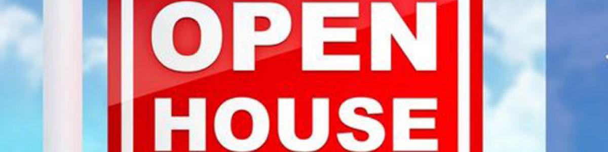 Headline for Top Open Houses Articles
