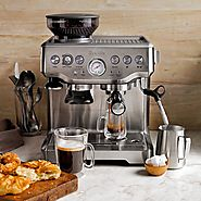 Best Rated Espresso Machine | Breville BES870XL Barista Express Espresso Machine Reviews - Kitchen Things