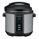 Best Electric Pressure Cookers 2014 | Cuisinart EPC-1200PC 6-Quart Electric Pressure Cooker, Brushed Stainless and Matte Black - Club Model
