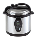 Best Electric Pressure Cookers 2014 | Nesco PC6-25P 6-Quart Electric Programmable Pressure Cooker, Stainless Steel