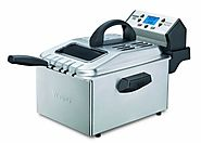 Best Electric Deep Fryers | Waring Pro DF280 Professional Deep Fryer, Brushed Stainless