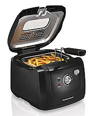 Best Electric Deep Fryers | Hamilton Beach 35021 Deep Fryer with Cool Touch, Black