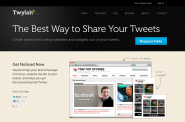 Twitter Chat and Hashtag Tools | Twitter Brand Pages by Twylah | Get a custom brand page for your tweets.