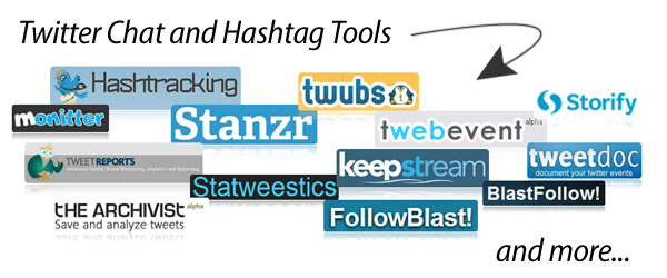 Twitter Chat and Hashtag Tools