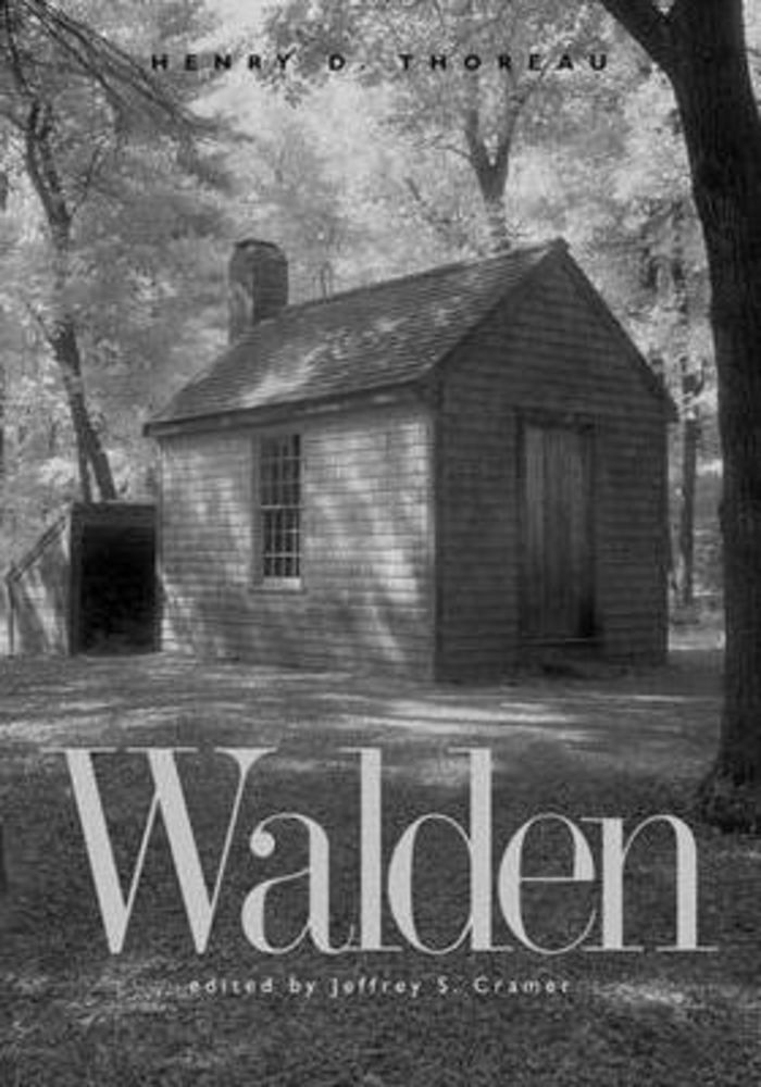 Walden by Henry David Thoreau,