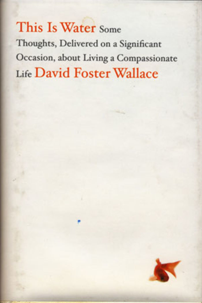 This Is Water Some Thoughts, Delivered on a Significant Occasion, about Living a Compassionate Life - David Foster Wa...