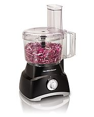 Top Rated Food Processors | Hamilton Beach 70740 8-Cup Food Processor, Black