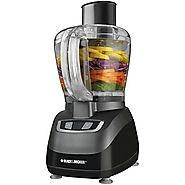 Top Rated Food Processors | Black & Decker FP1600B 8-Cup Food Processor, Black