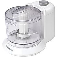 Top Rated Food Processors | Black & Decker HC306 1-1/2-Cup One-Touch Electric Chopper, White