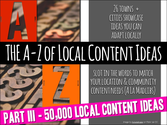 Local Content / Local Lists Toolkit - A Three Part Series | The A-Z of Local Content.