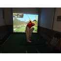 Best Indoor Home Golf Simulator Reviews 2014 | Golf Simulator Home Version with Optishot